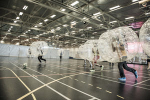 Bubble Football. Photo: Tom Haga