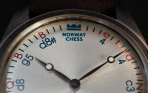 Offisiell Norway Chess klokke Réti Silver